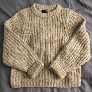 Club Monaco Italian Yarn Chunky Sweater